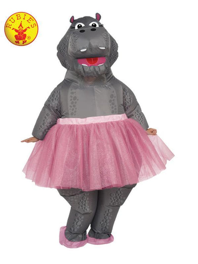 HIPPO INFLATABLE COSTUME - SIZE STD-Costumes - Women-Jokers Costume Hire and Sales Mega Store