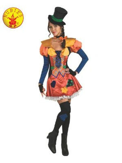 HOBO CLOWN WOMENS COSTUME - SIZE STANDARD-Costumes - Women-Jokers Costume Hire and Sales Mega Store