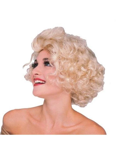 HOLLYWOOD STARLET WIG, ADULT-Wigs-Jokers Costume Mega Store