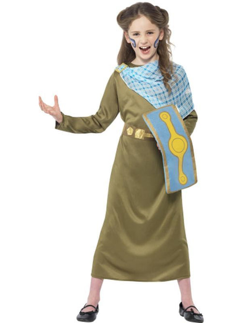 Horrible Histories Boudica Costume-Costumes - Girls-Jokers Costume Hire and Sales Mega Store
