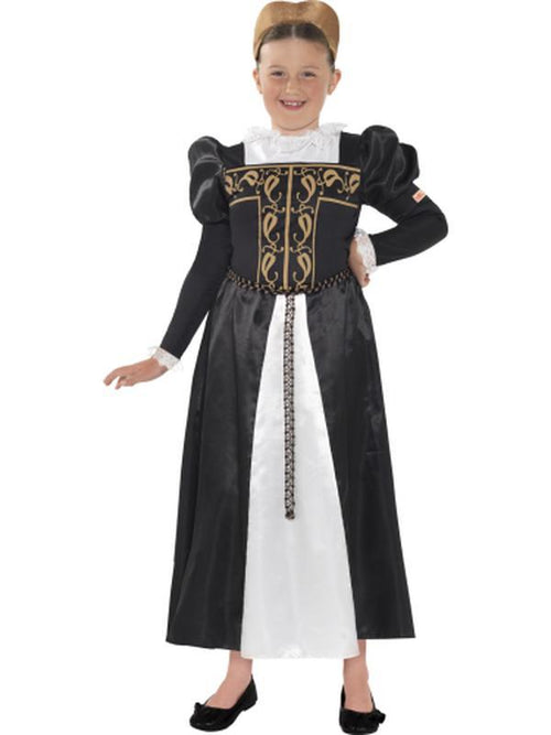 Horrible Histories, Mary Queen of Scots Costume-Costumes - Girls-Jokers Costume Hire and Sales Mega Store