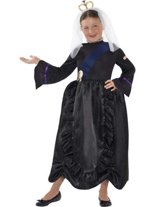Horrible Histories Queen Victoria Costume-Costumes - Girls-Jokers Costume Hire and Sales Mega Store