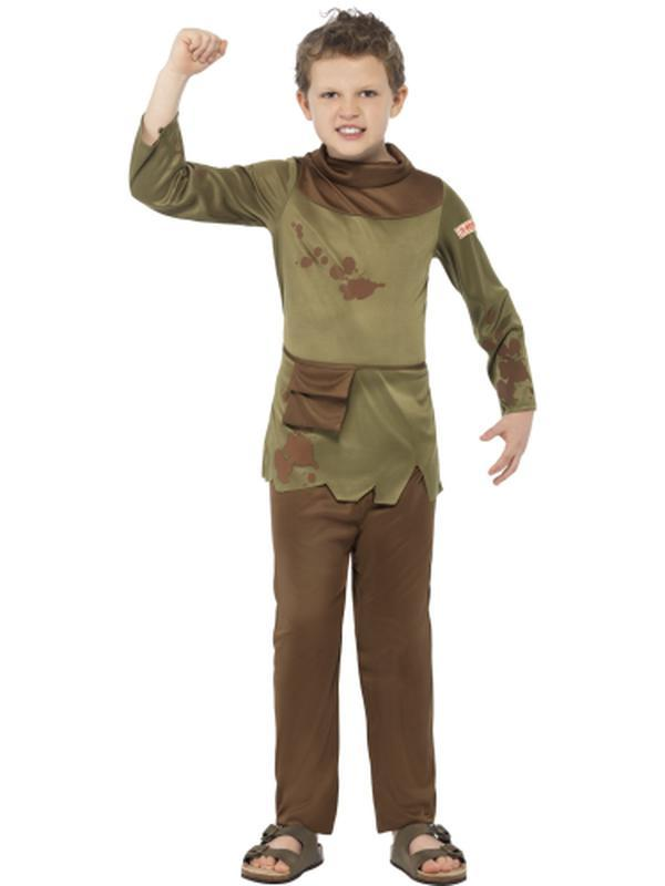 Horrible Histories Revolting Peasant Boy Costume-Costumes - Boys-Jokers Costume Hire and Sales Mega Store