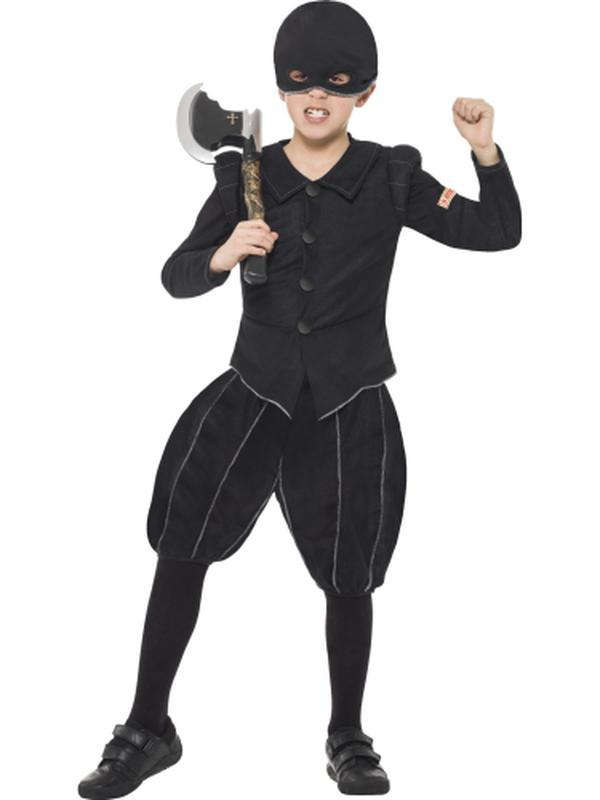 Horrible Histories Tudor Executioner Costume-Costumes - Boys-Jokers Costume Hire and Sales Mega Store