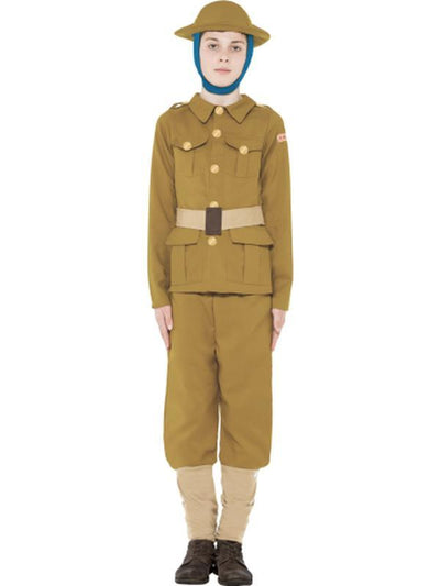 Horrible Histories WWI Boy Costume-Costumes - Boys-Jokers Costume Hire and Sales Mega Store