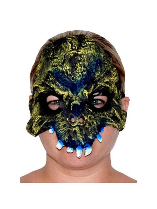 **Horror Tooth Chinless Mask - Zombie***-Masks - Halloween-Jokers Costume Hire and Sales Mega Store