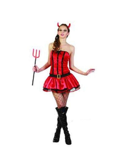 Hot Diva Devil - Adult - Large-Costumes - Women-Jokers Costume Hire and Sales Mega Store