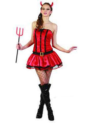 Hot Diva Devil - Adult - Medium-Costumes - Women-Jokers Costume Hire and Sales Mega Store