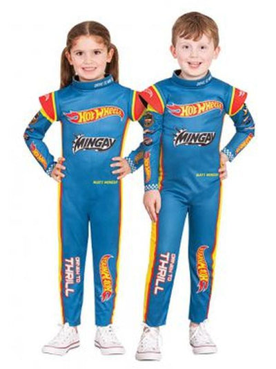 Hot Wheels Racing Suit - Size 4-6-Costumes - Boys-Jokers Costume Hire and Sales Mega Store