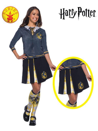 HUFFLEPUFF ADULT SKIRT - ONE SIZE-Costumes - Women-Jokers Costume Hire and Sales Mega Store