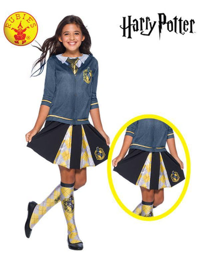 HUFFLEPUFF CHILD SKIRT - ONE SIZE-Costumes - Girls-Jokers Costume Hire and Sales Mega Store