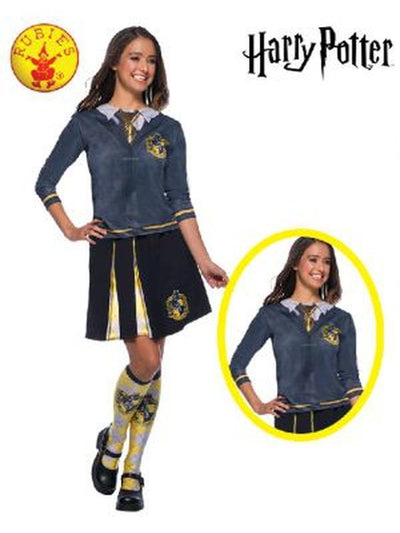 HUFFLEPUFF COSTUME TOP ADULT - SIZE SMALL-Costumes - Women-Jokers Costume Hire and Sales Mega Store