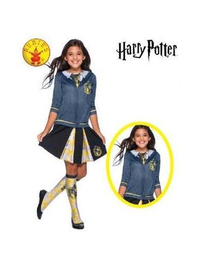 HUFFLEPUFF COSTUME TOP - SIZE L-Costumes - Girls-Jokers Costume Hire and Sales Mega Store