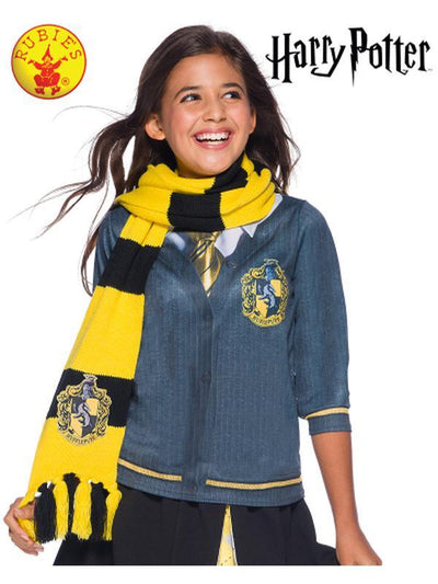 HUFFLEPUFF DELUXE SCARF - ONE SIZE-Costume Accessories-Jokers Costume Hire and Sales Mega Store