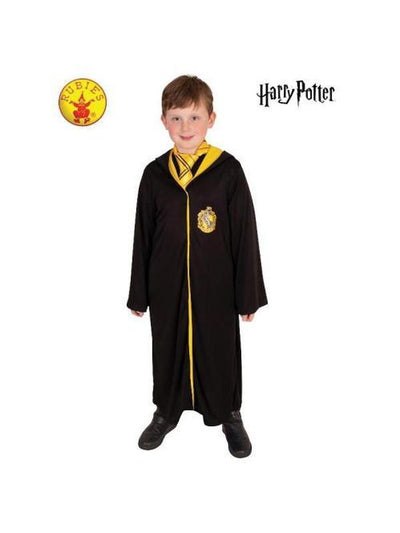 HUFFLEPUFF ROBE, CHILD-Costumes - Boys-Jokers Costume Hire and Sales Mega Store