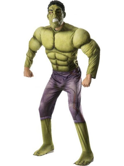 Hulk Avengers 2 Deluxe Costume - Size Xl-Costumes - Mens-Jokers Costume Hire and Sales Mega Store
