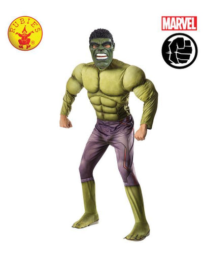 HULK DELUXE COSTUME - SIZE STD-Costumes - Mens-Jokers Costume Hire and Sales Mega Store