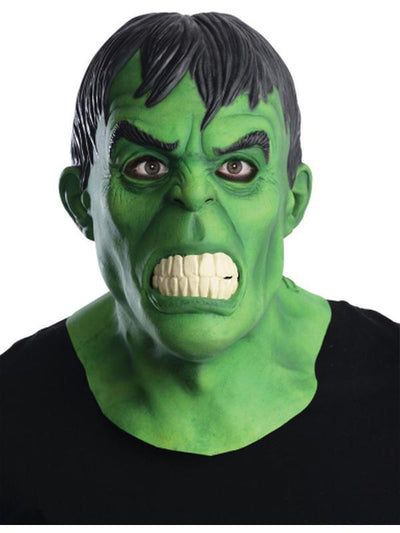 Hulk Overhead Latex Mask-Masks - Latex-Jokers Costume Hire and Sales Mega Store
