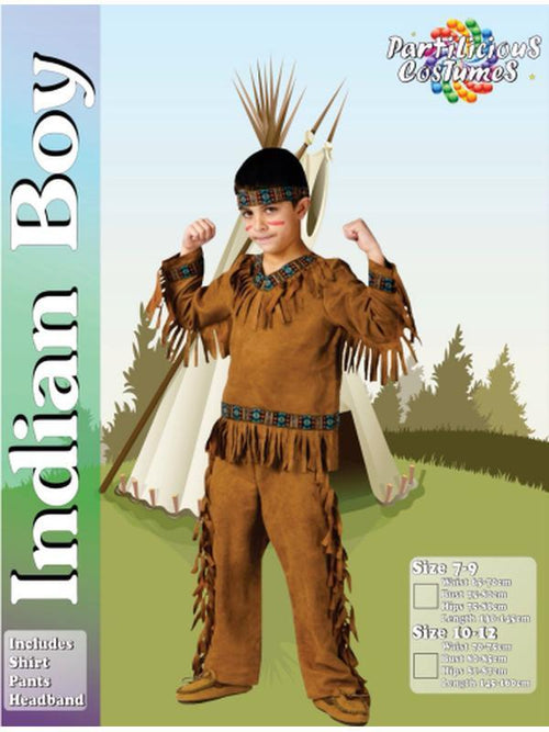 Indian costume.-Costumes - Boys-Jokers Costume Hire and Sales Mega Store
