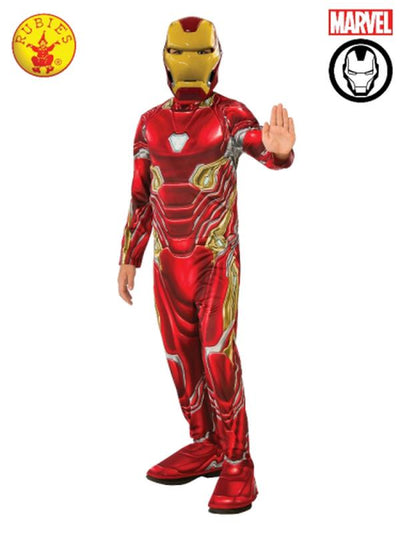IRON MAN CLASSIC (MARK 50) COSTUME, CHILD-Costumes - Boys-Jokers Costume Mega Store
