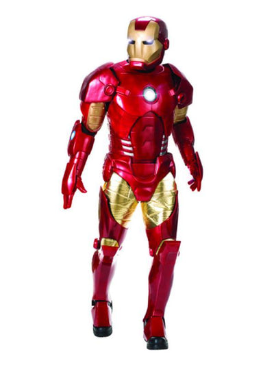 Iron Man Collector'S Edition - Size Std-Costumes - Mens-Jokers Costume Hire and Sales Mega Store