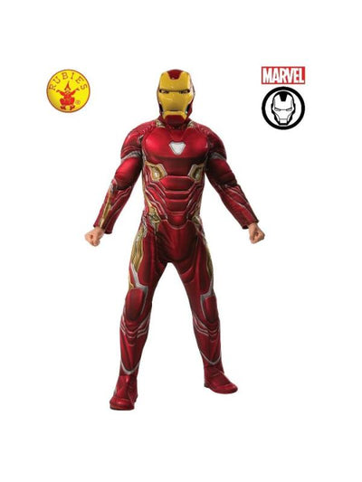 IRON MAN DELUXE COSTUME, ADULT-Costumes - Mens-Jokers Costume Hire and Sales Mega Store