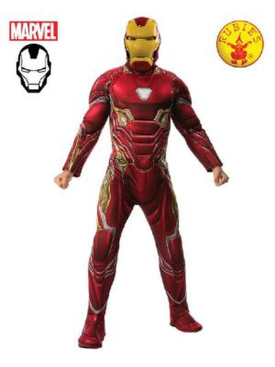IRON MAN DELUXE INFINITY WAR COSTUME-Costumes - Mens-Jokers Costume Hire and Sales Mega Store
