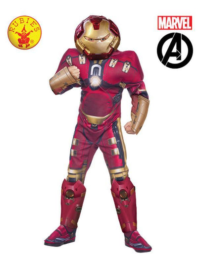 IRON MAN HULK-BUSTER COSTUME - SIZE S-Costumes - Boys-Jokers Costume Hire and Sales Mega Store