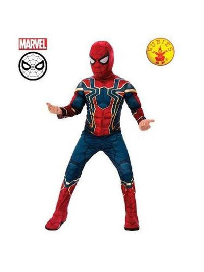 IRON-SPIDER DELUXE COSTUME - SIZE 3-5-Costumes - Boys-Jokers Costume Mega Store