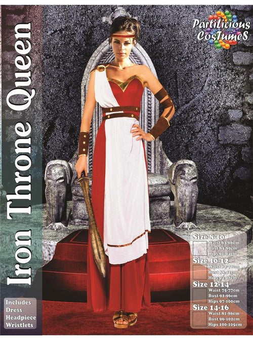 Iron Throne Queen-Costumes - Women-Jokers Costume Hire and Sales Mega Store