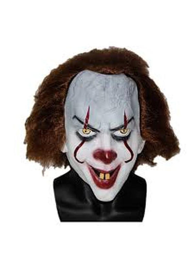 IT Clown Mask-Masks - Latex-Jokers Costume Hire and Sales Mega Store