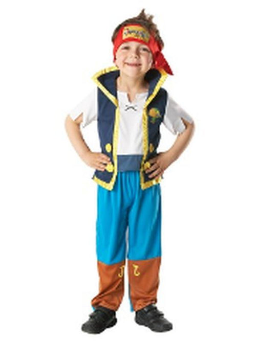 Jake And The Neverland Pirates - Size M-Costumes - Boys-Jokers Costume Hire and Sales Mega Store