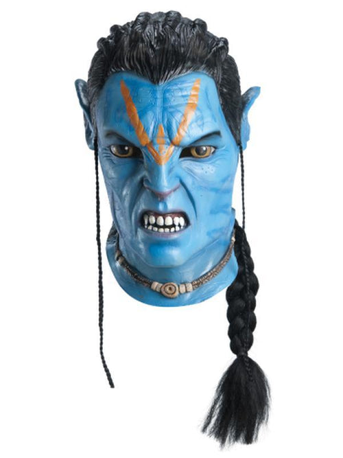 Jake Sully Overhead Latex Mask-Masks - Latex-Jokers Costume Hire and Sales Mega Store