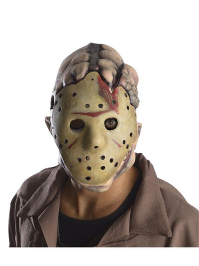Jason Double Mask-Masks - Latex-Jokers Costume Hire and Sales Mega Store