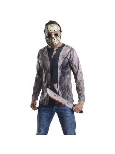 Jason Kit - Size Std-Costumes - Mens-Jokers Costume Hire and Sales Mega Store