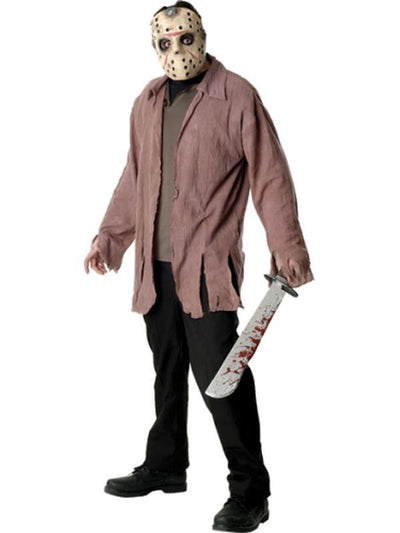 Jason - Size Xl-Costumes - Mens-Jokers Costume Hire and Sales Mega Store