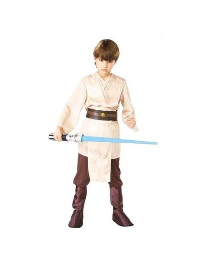 JEDI KNIGHT DELUXE COSTUME ,Child- SIZE M-Costumes - Boys-Jokers Costume Hire and Sales Mega Store