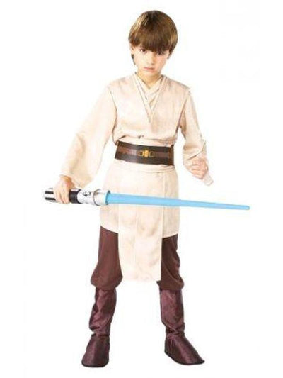 JEDI KNIGHT DELUXE COSTUME, Child - SIZE S-Costumes - Boys-Jokers Costume Hire and Sales Mega Store