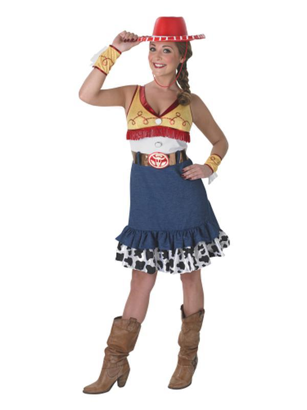 Jessie Adult Sassy Costume - Size S-Costumes - Women-Jokers Costume Hire and Sales Mega Store