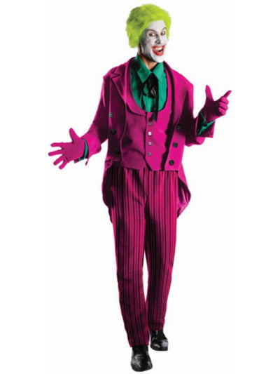 Joker 1966 Collector'S Edition - Size Xl-Costumes - Mens-Jokers Costume Hire and Sales Mega Store