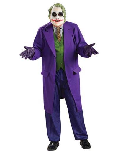 Joker Deluxe Costume - Size Std-Costumes - Mens-Jokers Costume Hire and Sales Mega Store