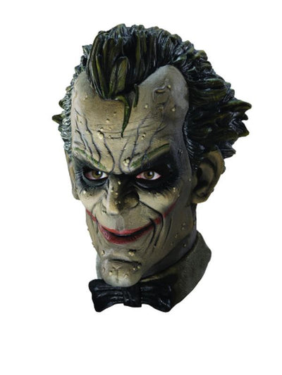 Joker Mask Deluxe-Masks - Latex-Jokers Costume Hire and Sales Mega Store