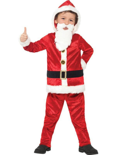 Jolly Santa Costume-Costumes - Boys-Jokers Costume Hire and Sales Mega Store