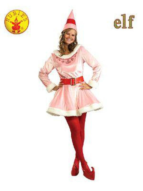 Jovi Elf Deluxe Costume - Size Std-Costumes - Women-Jokers Costume Hire and Sales Mega Store