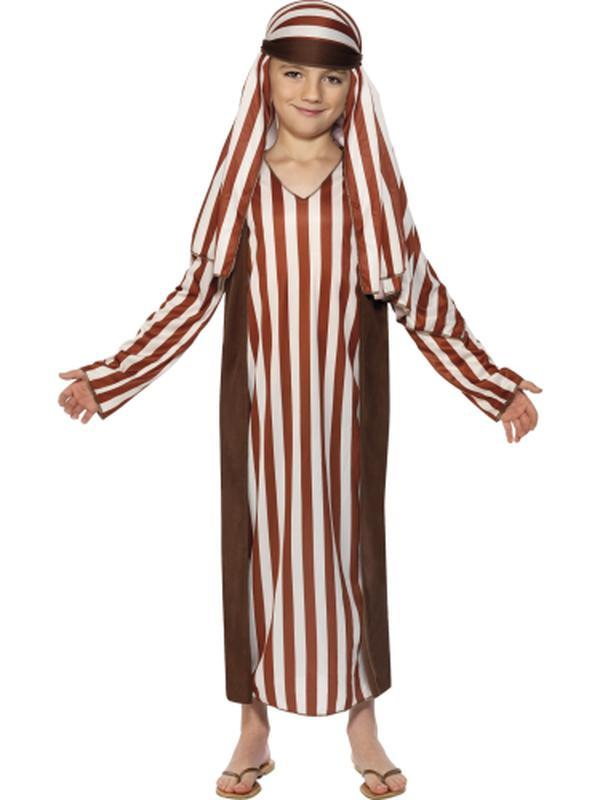 Kids Shepherd Robe Costume-Jokers Costume Mega Store