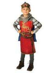 King Arthur Costume - Size 9-10 Yrs-Jokers Costume Mega Store