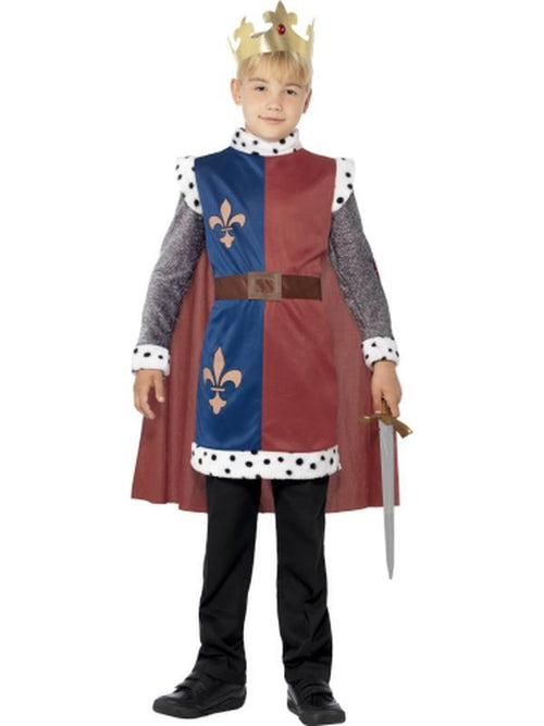 King Arthur Medieval Costume-Costumes - Boys-Jokers Costume Hire and Sales Mega Store