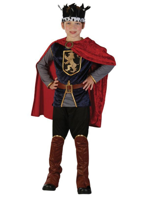 King - Medium/Large-Costumes - Boys-Jokers Costume Hire and Sales Mega Store
