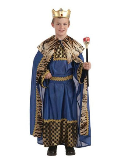King Of The Kingdom Deluxe Costume - Size M-Costumes - Boys-Jokers Costume Hire and Sales Mega Store