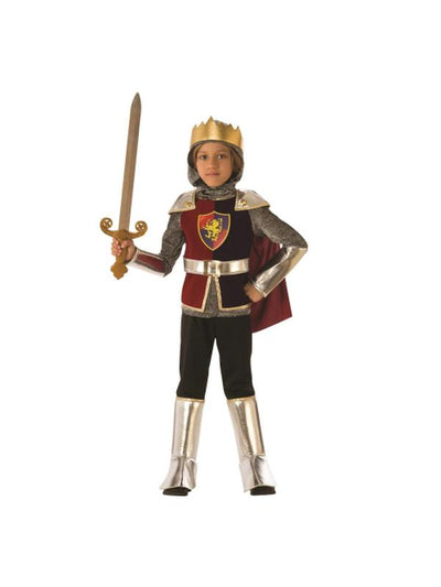 KNIGHT COSTUME, CHILD-Costumes - Boys-Jokers Costume Hire and Sales Mega Store